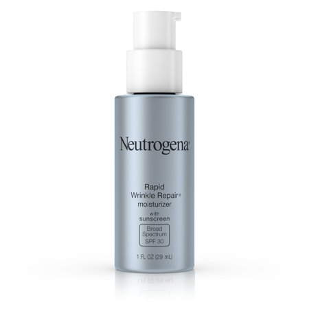 Neutrogena Rapid Wrinkle Repair Face & Neck Moisturizer SPF 30, 1 fl. (Best Wrinkle Treatment For Men)