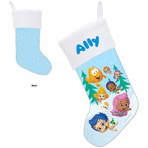 Personalized Bubble Guppies Group Stocking