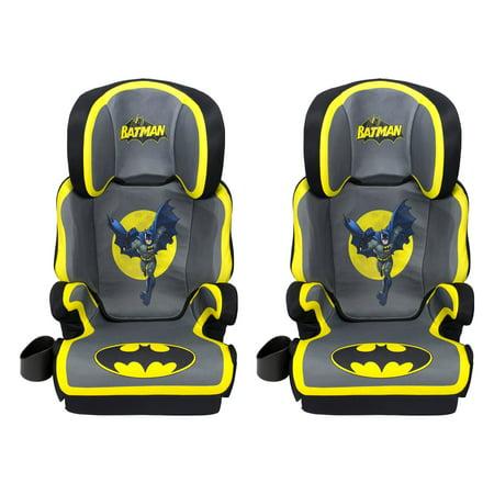 Kids Embrace DC Comics Batman High Positioning Back Toddler Car Seat 2 Pack