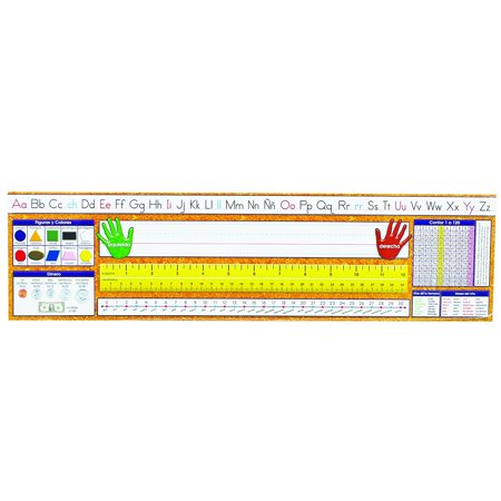 Spanish Desk Plate Traditional Manuscript Learning Aid  Simply Write In Students Names And Tape To Students Desks For Year Round Use By North Star Teacher Resource