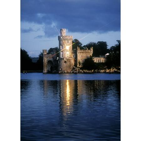 Blackrock Castle River Lee Near Cork City Co Cork Ireland Canvas Art   The Irish Image Collection  Design Pics  12 X 17