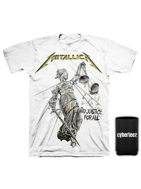 c8399920 Product Image Metallica T-Shirt Justice For All White T-Shirt + Coolie (S)