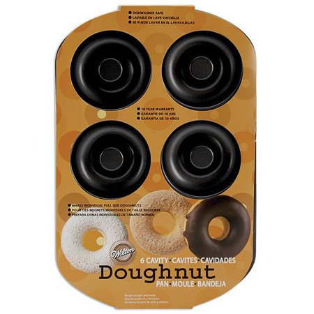 - Wilton Donut Pan, 6 cavity