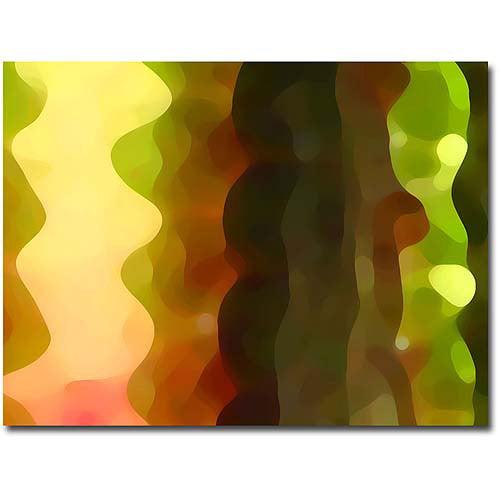 """Trademark Fine Art """"Tall Cactus II"""" Canvas Wall Art by Amy Vangsgard"""