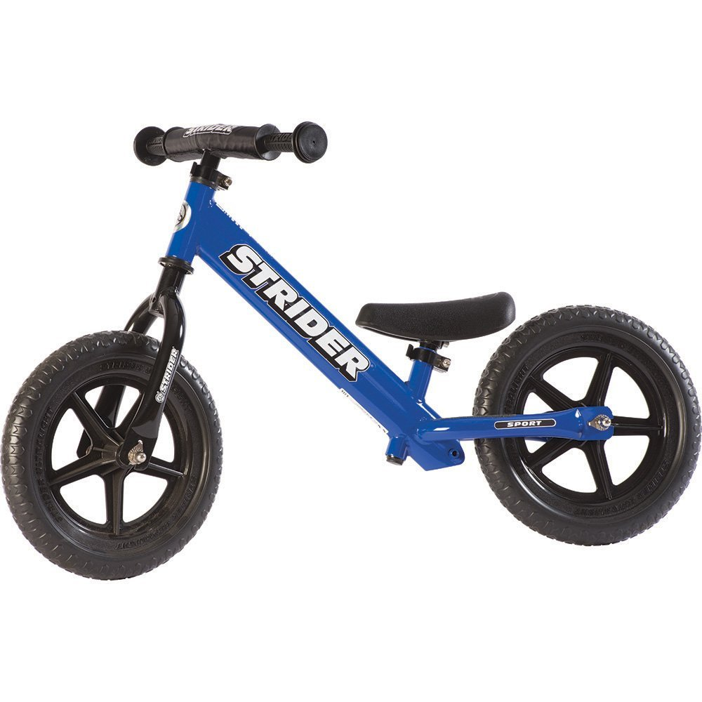 STRIDER 12 Sport Balance Bike, Blue