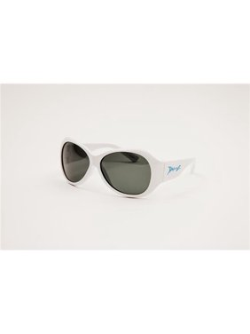 Banz JBRWHS Classic Retro Sunglasses, White - Small