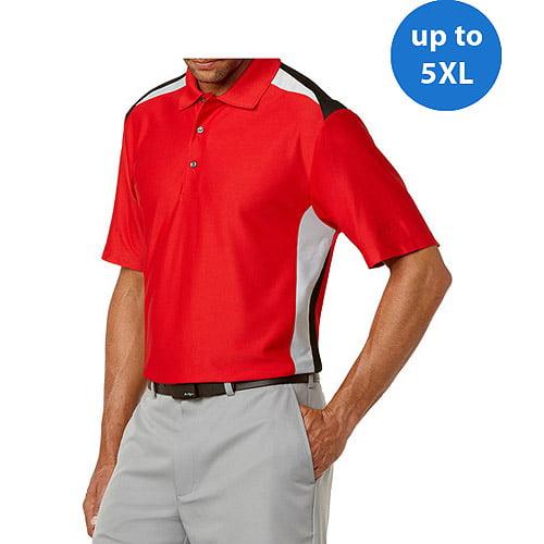 Ben Hogan Big Men's Short Sleeve Colorblock Fashion Polo