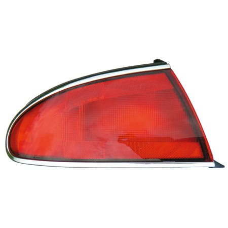 1997-2005 Buick Century Driver Left Side Rear Back Lamp Tail Light