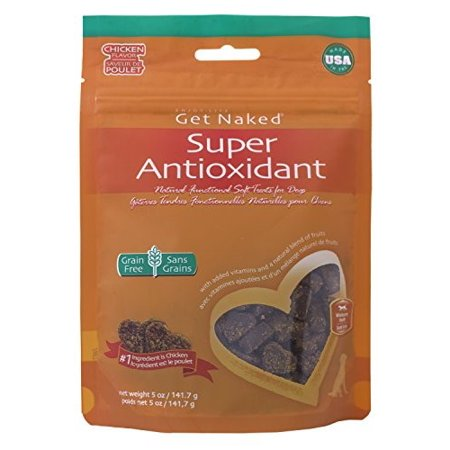 Get Naked Super Antioxidant Soft Dog Treats, 5-Oz - Super Simple Halloween Treats