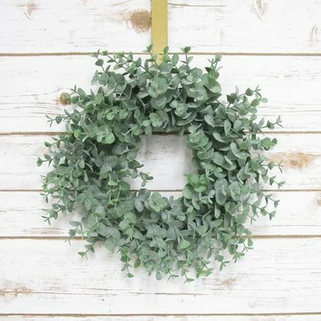 Gracie Oaks Frosted Eucalyptus Leaf Plastic (Plastic Wreath Cups)