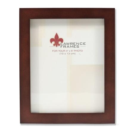 755945 Espresso Wood 4x5 Picture Frame - Walmart.com