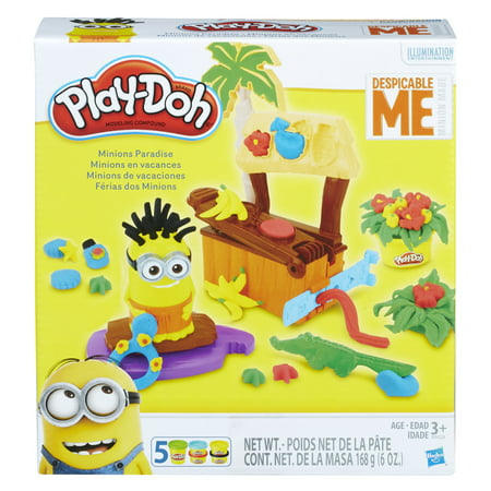 Play-Doh Despicable Me Minions Paradise Set with 5 Cans of - Dog Despicable Me