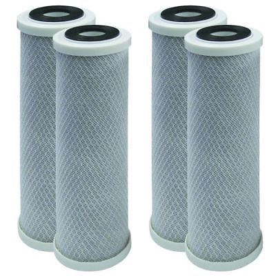 "4PK- 10"" x 2.5"" Coconut Shell CTO Carbon Block Water Filter for RO & Whole house"