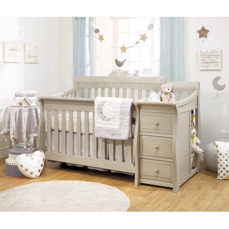 Sorelle Princeton Elite 4 In 1 Crib And Changer Heritage
