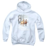 Wildlife Coffee And Chocolate Big Boys Pullover Hoodie