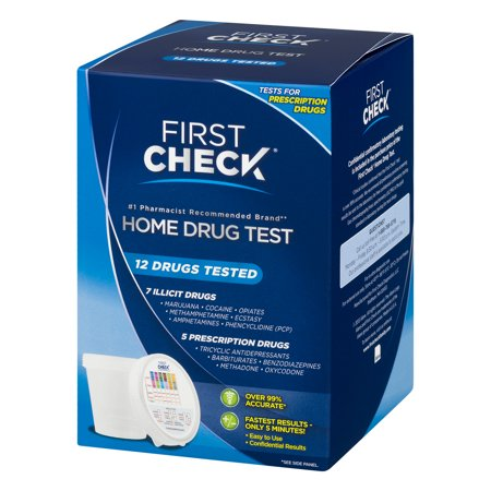 First Check Home Drug Test, 12 Drugs Tested, 1 0 CT - Best First