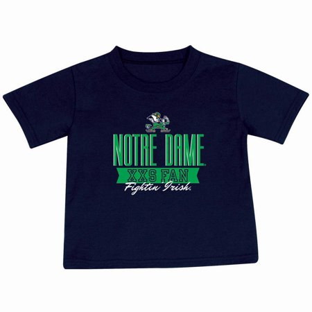 Toddler Russell Navy Notre Dame Fighting Irish T-Shirt - Notre Dame Party Supplies