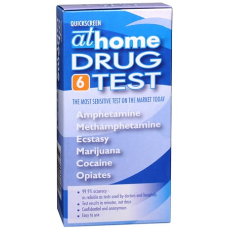 Color Test - Phamatech At Home Quickscreen Drug Test, 1 ea