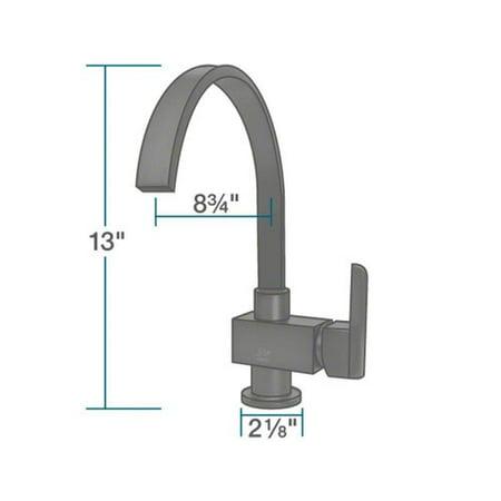 MR Direct Single Handle Kitchen Faucet