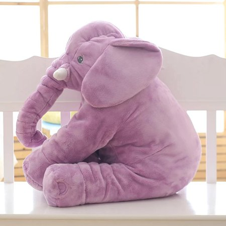 Animals With Big Noses (Large Plush Elephant pillow Elephant Pillow Baby Stuffed Doll Plush Big Toy Children Kids Soft Long Nose Cute sleeping doll)