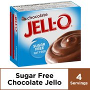 Jell-O Sugar Free Chocolate Instant Pudding Mix, 1.4 oz Box