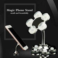Fysho 360°Rotatable Multi-Angle Double-Sided Phone Holder Sucker Stand