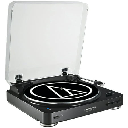 Audio-Technica AT-LP60BK-BT Fully Automatic Wireless Belt-Drive Stereo