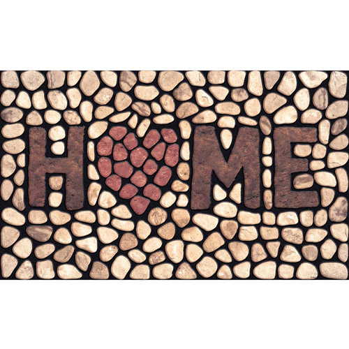 Masterpiece 60-779-1029-01800030 Home Stone Welcome Doormat - 18 x 30 in.