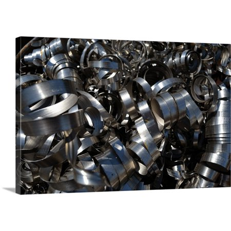Great BIG Canvas | Brian Moore Premium Thick-Wrap Canvas entitled Metal Coils II - Ac Moore Canvas