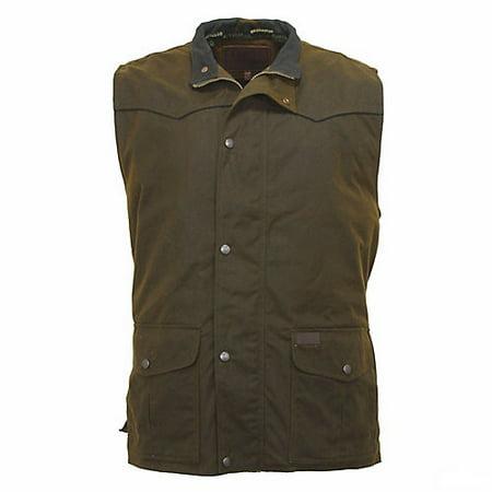 Outback Trading Mens Magnum Vest Medium Outback Canvas Vest