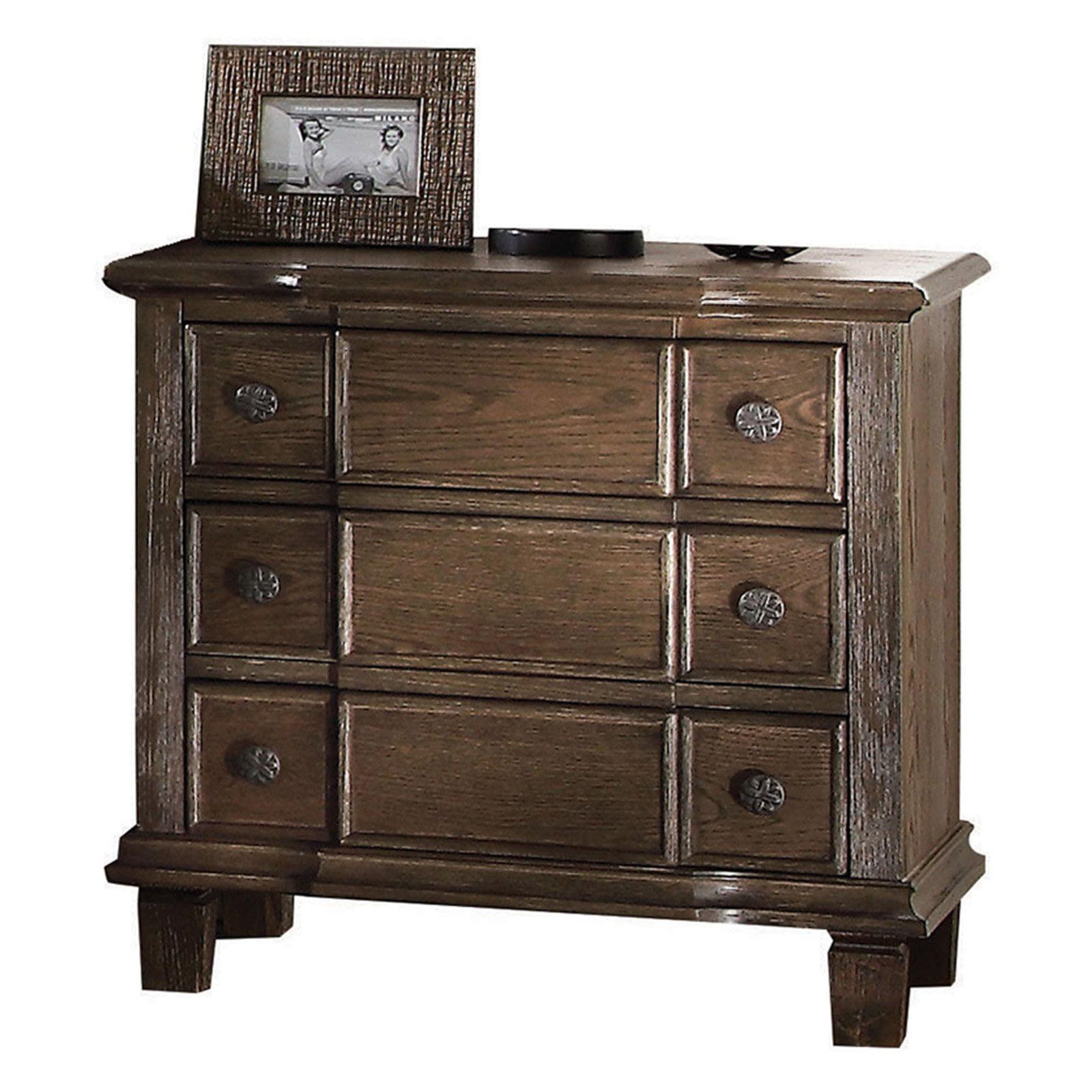 Acme Furniture Baudouin 3 Drawer Nightstand