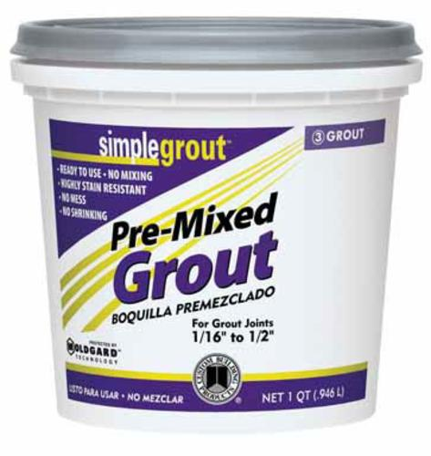 Custom Building Products PMG105QT Pre-Mixed Grout Earth Qt
