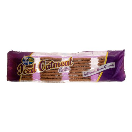 New 300051  Ldm Iced Oatmeal 14 Oz (12-Pack) Cookies Cheap Wholesale Discount Bulk Snacks Cookies Scotties - Iced Cookies Halloween