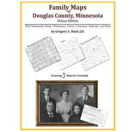 Family Maps of Douglas County, Minnesota ()