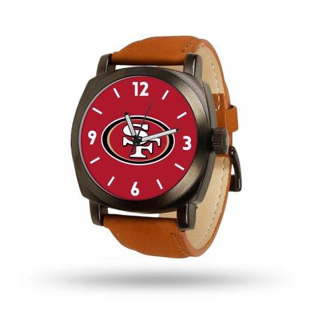 San Francisco 49ers Sparo Brown Strap Watch - No -