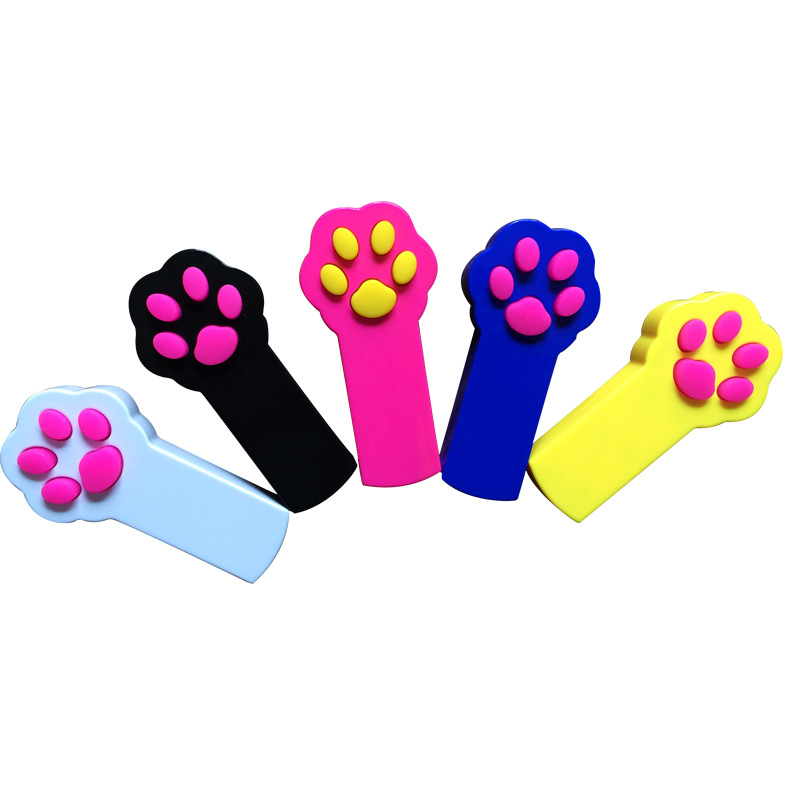 Cat Catch the Interactive LED Light Pointer Paw Style Cat Toys Red Pot Exercise Chaser Toy Pet Scratching... by