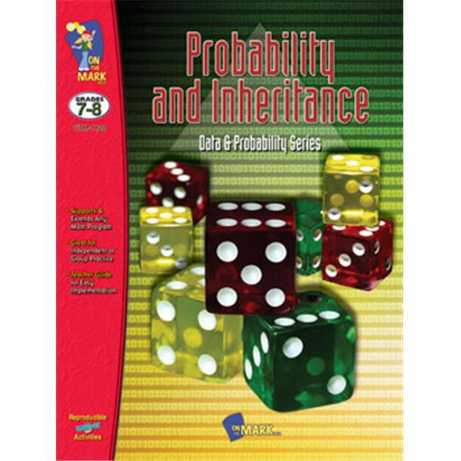 On The Mark Press OTM1120 Probability & Inheritance Gr.  7-10