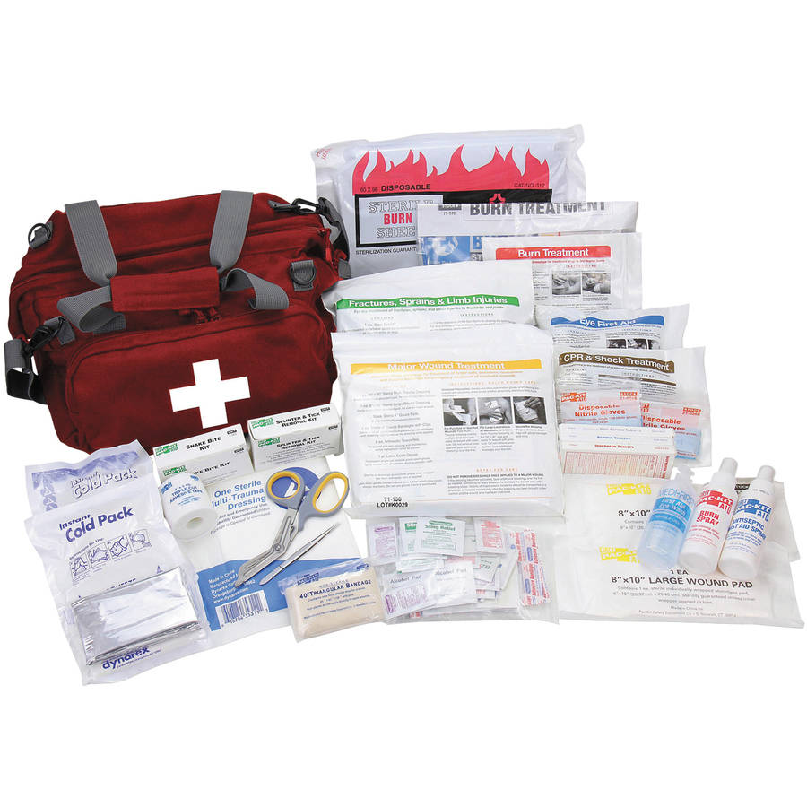 Pac-Kit All Terrain First Aid Kit, 112 piece