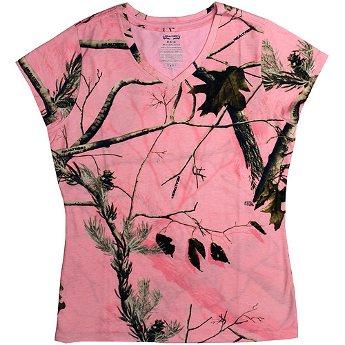 Realtree Women's Short-Sleeve Knit Top T-Shirt