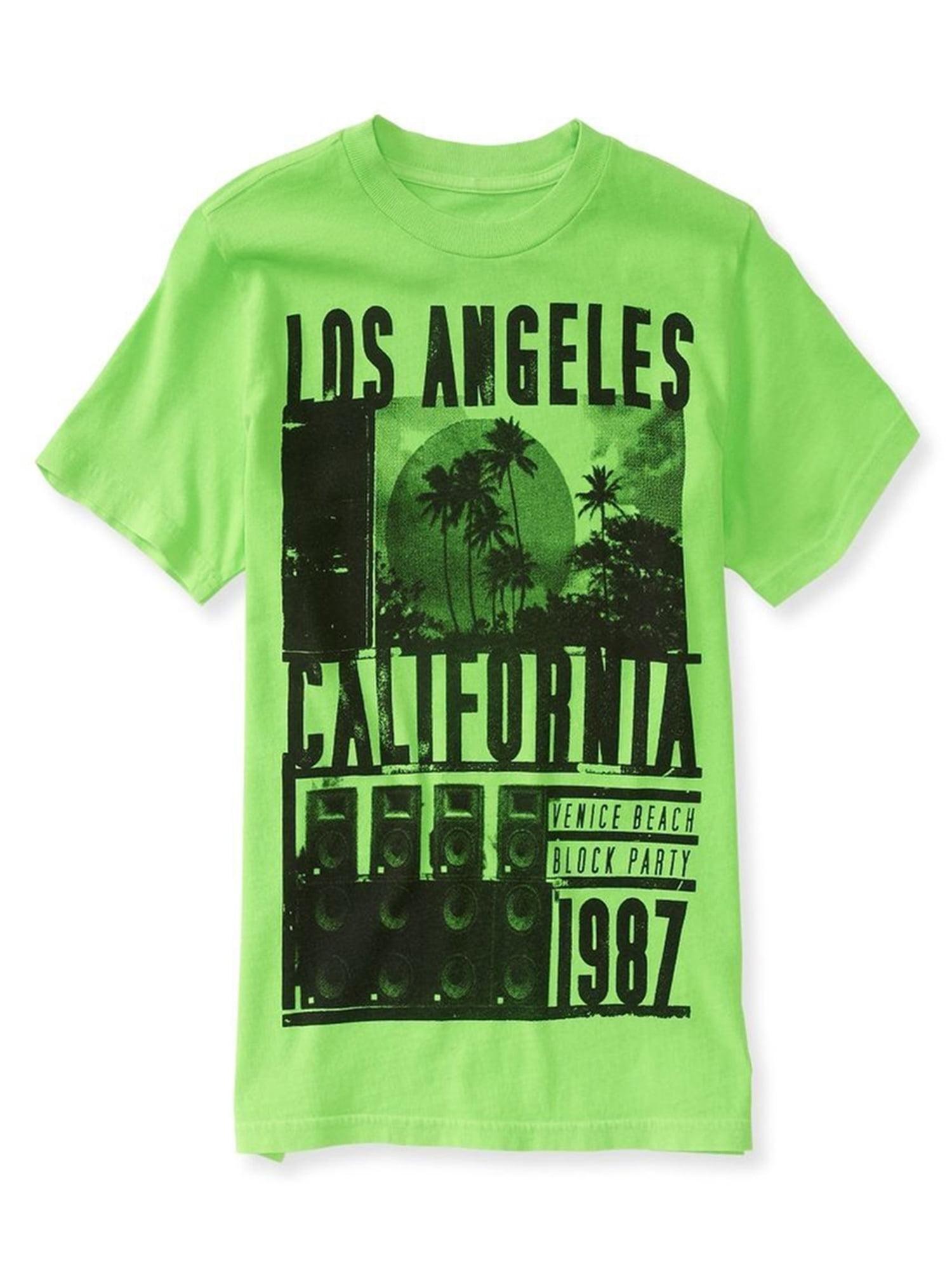 Aeropostale Boys Los Angeles Graphic T-Shirt 366 4 - Little Kids (4-7)