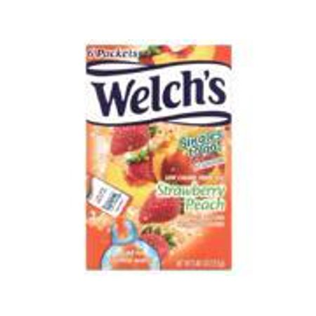 Welch's, Low Calorie Drink Mix, Strawberry Peach (Pack of