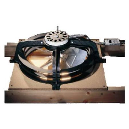 Air Vent WCGB Gable Mount Power Attic Ventilator 1320 (Power Gable)