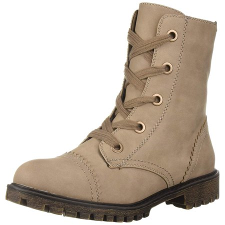 fa8cc8b0463 Proxy Womens Addie Fabric Cap Toe Ankle Combat Boots | Walmart Canada