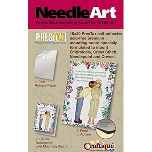 "Prestax Self-adhesive Mounting Board 8""x10""-white"