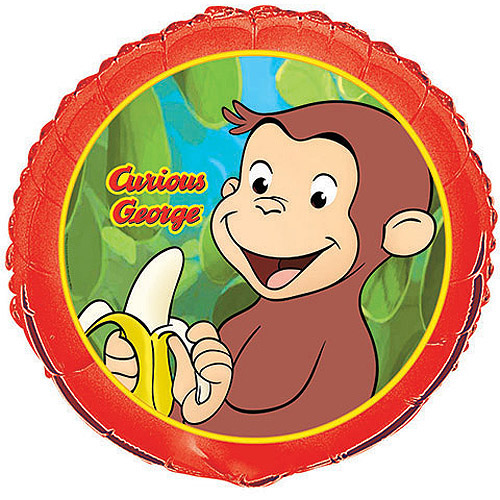 "18"" Foil Curious George Balloon"
