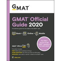 GMAT Official Guide 2020: Book + Online Question Bank (Paperback)
