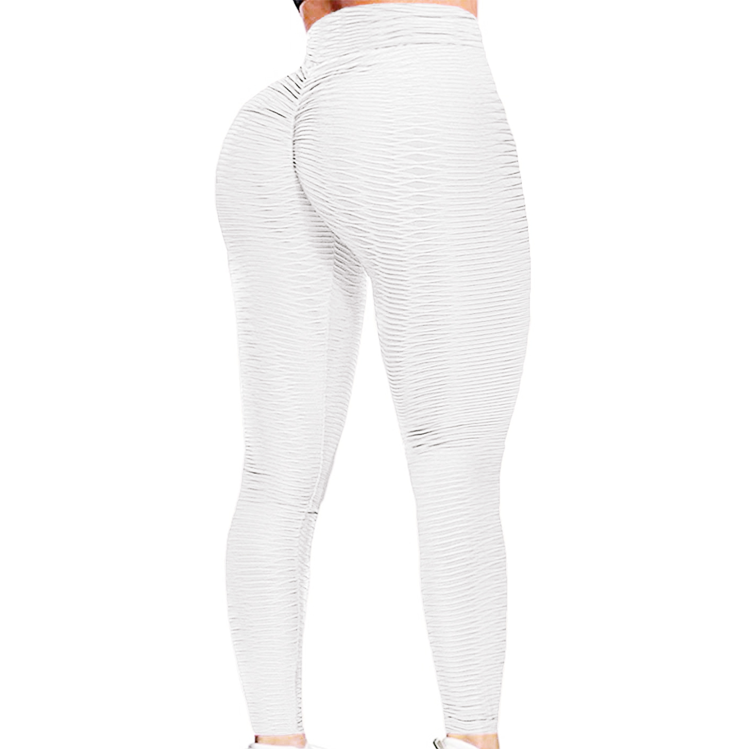 Womens High Waist Yoga Sport Shorts Ruched Push Up Leggings Workout Gym Pants H1