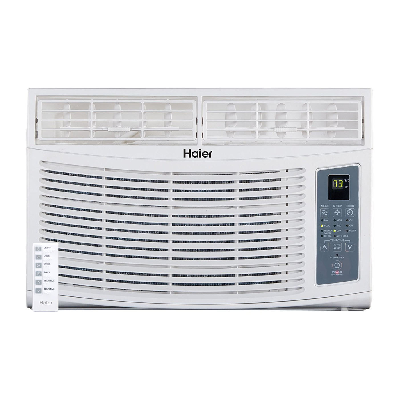 Haier 8,000 BTU Electronic Window Air Conditioner AC Unit...