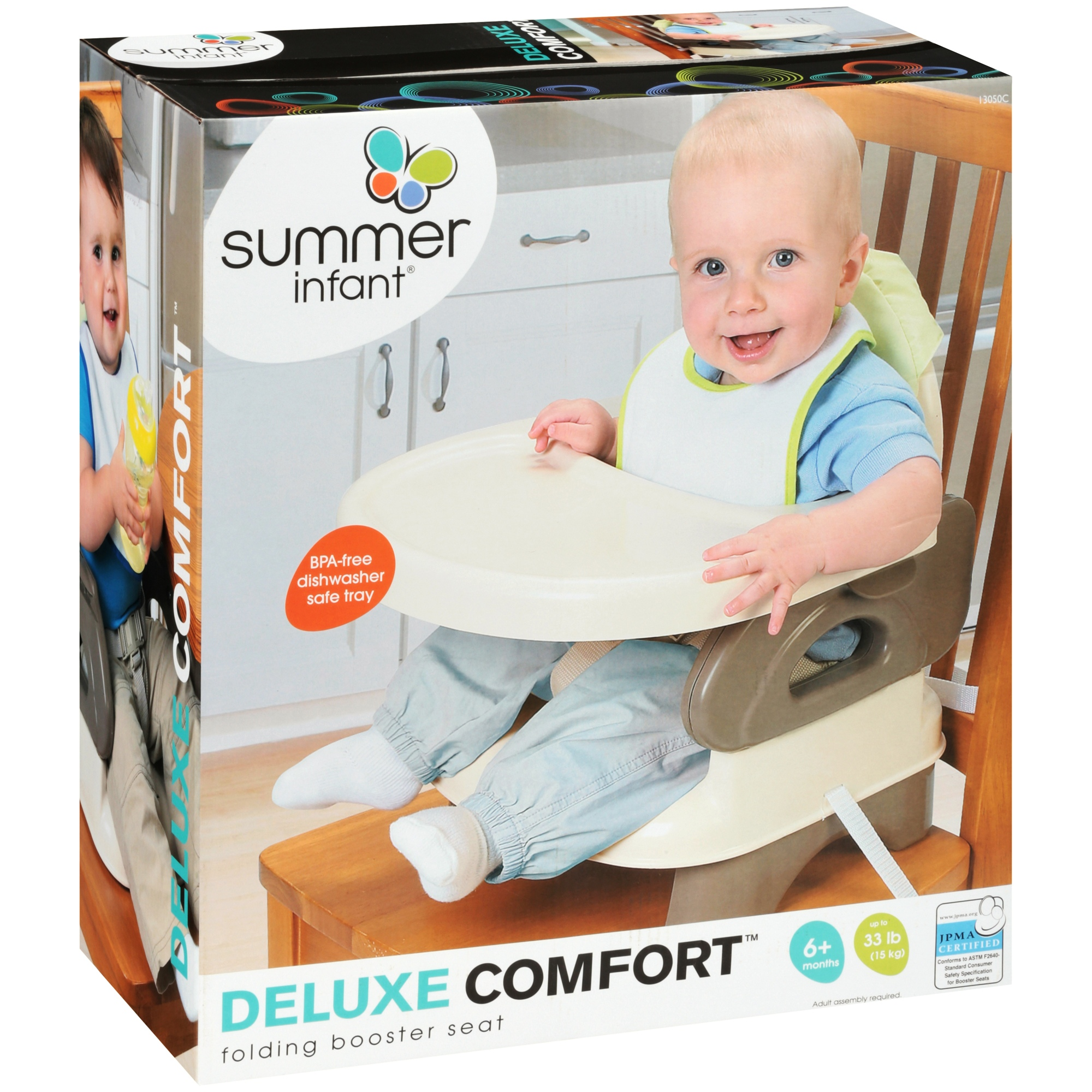 Delicieux Summer Infant Deluxe Comfort Folding Booster Seat   Tan   Walmart.com