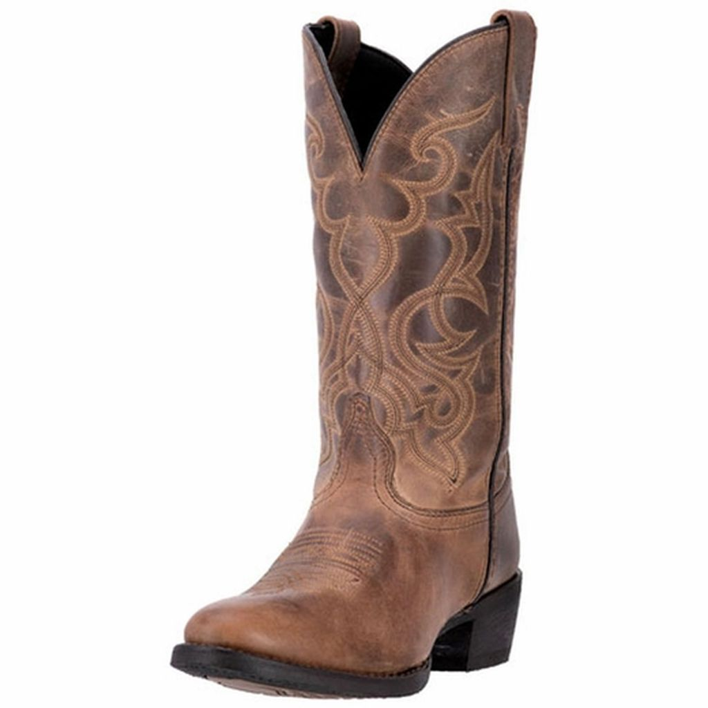 """Laredo Western Boots Womens 11"""" Maddie R Toe Leather Brown 51112 by Laredo"""